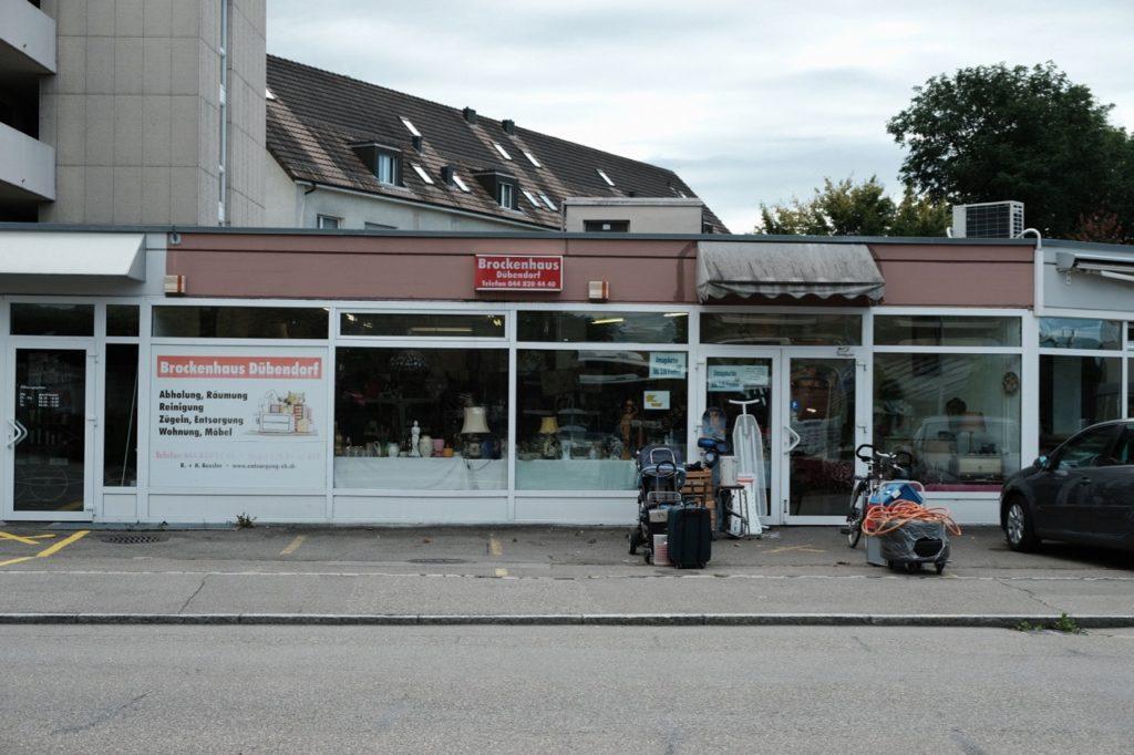 Brockenhaus Dübendorf Brocki Search